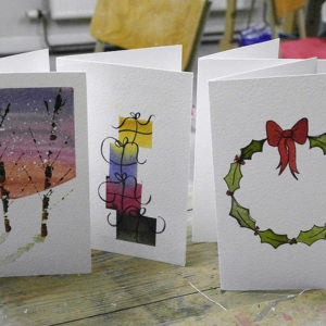 Watercolour Christmas Cards - Moved from 2020