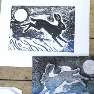 Printmaking: Relief Collagraph Techniques Without a Press - MOVED FROM 2020