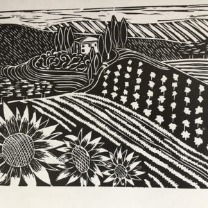 Printmaking - Landscape in Linocut - MOVED FROM 2020