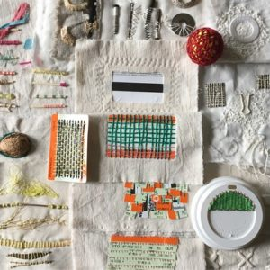 Experimental Stitch with Found Objects - Moved from 2020