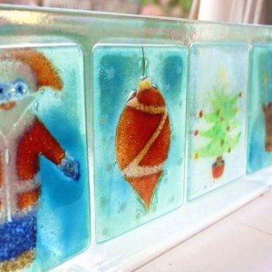 Fused Glass - Christmas Decorations - Moved from 2020