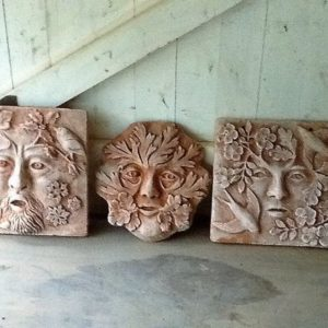Sculpt a Green Man Wall Plaque in Clay - Moved from 2020