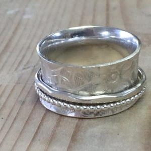 Silversmithing - Make a Fidget or Swivel Ring - Moved from 2020