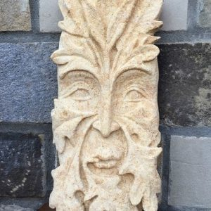 Stone Carving - Green Man in High Relief - Moved from 2020