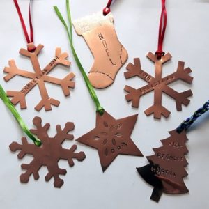Copperwork - Design & Make Your Own Christmas Decorations - Moved from 2020