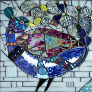 Mosaics - Create Peacocks in Picassiette - Moved from 2020
