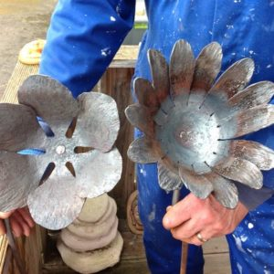 Blacksmithing - Sculptural Flowers for the Garden - Moved from 2020