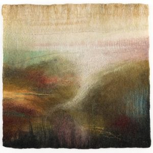Creating Delicate Felted Landscapes