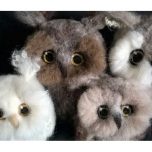 Wise Owls in Needlefelt - Moved from 2020