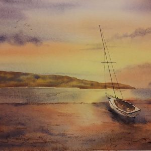 Paint a Beach Scene in Watercolour - MOVED FROM 2020