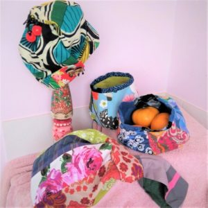 Japanese Fabric Bowls & Knot Bags - MOVED FROM 2020