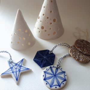 Christmas Ceramics - Contemporary Handmade Decorations - Moved from 2020