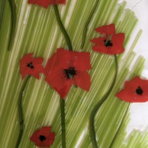 Flowers in Fused Glass - Plaques + Light-Catchers  - CANCELLED