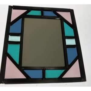 Stained Glass Taster Day - Simple Leaded Glass Framed Mirror - Moved from 2020