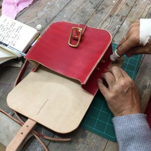 More Leatherwork - Make a Small Satchel Style Bag