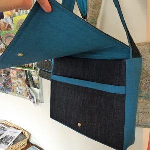 Sew Your Own Casual Messenger Bag - MOVED FROM 2020