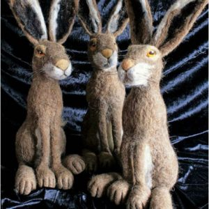 Make a Gorgeous Needlefelt Hare - MOVED FROM 2020