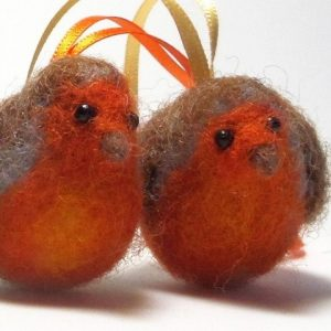 Have a Stab at Needlefelt - Christmas Robins - Moved from 2020