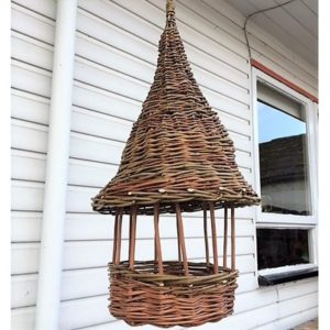 Willow for The Garden - Make a Hanging Pergola-Style Bird Table