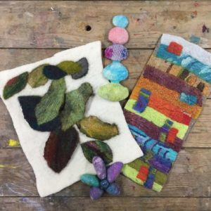 Feltmaking - Making, Working & Experimenting with Prefelts ( 6 x 3 hr afternoon sessions)  - Moved from 2020