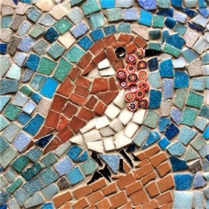 Mosaics - Create a Festive Robin Tile - Moved from 2020