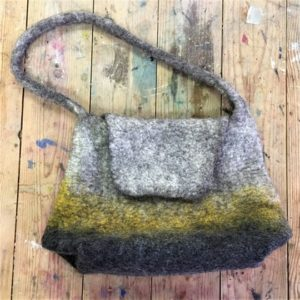 Feltmaking - All-in-One Shetland Felt Bag - Moved from 2020