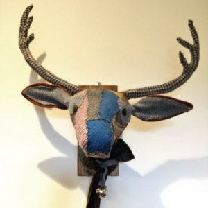 "Textile Taxidermy - Fabric ""Trophy"" Heads - Moved from 2020"