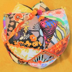 Sew an Upcycled Patchwork 'Woodgie' Cushion - Moved from 2020